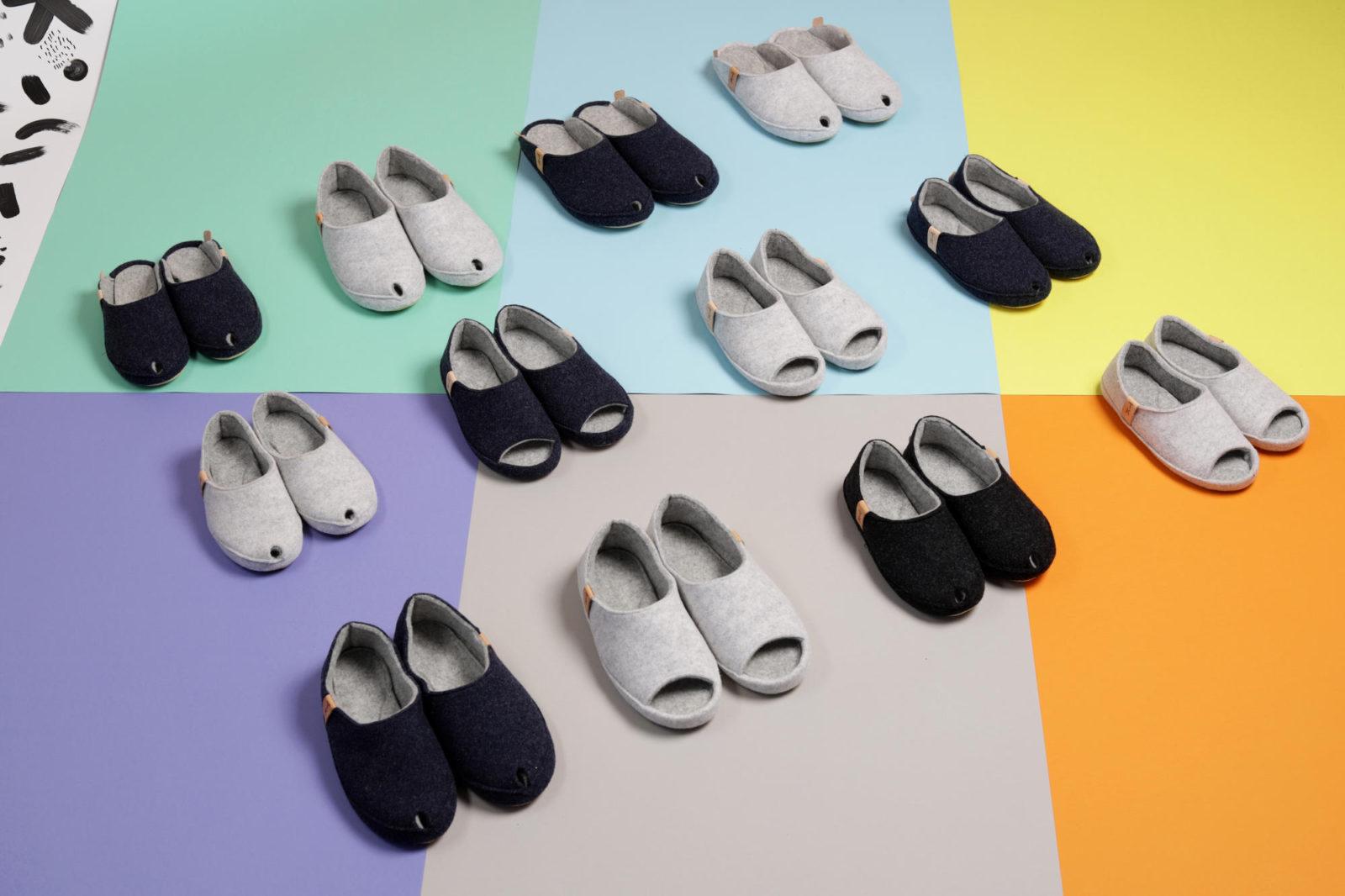 handmade slippers natural materials