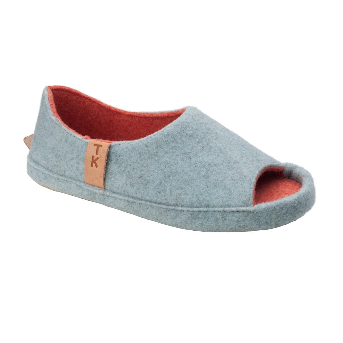 Handmade ethically made slippers