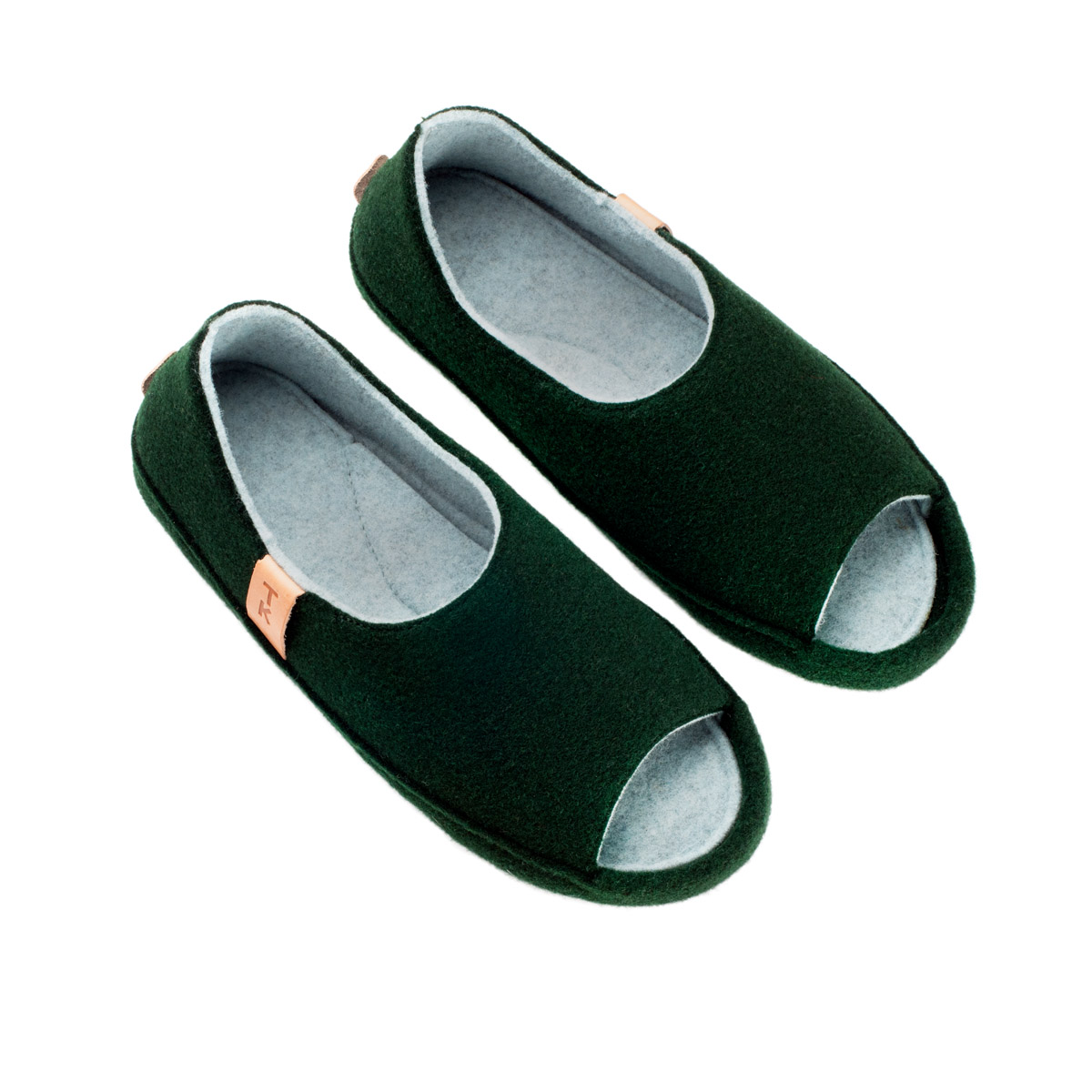 handmade wool slippers for men